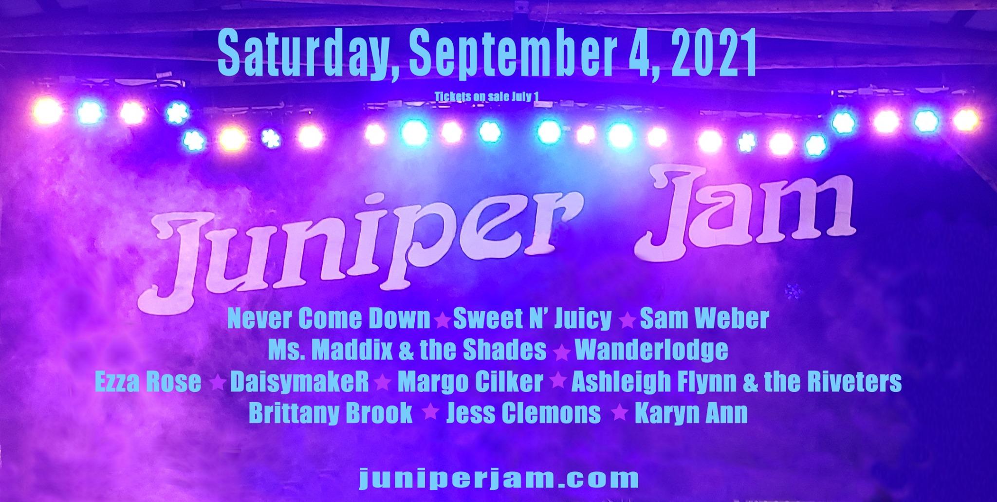Juniper Jam Festival Oregon 2021