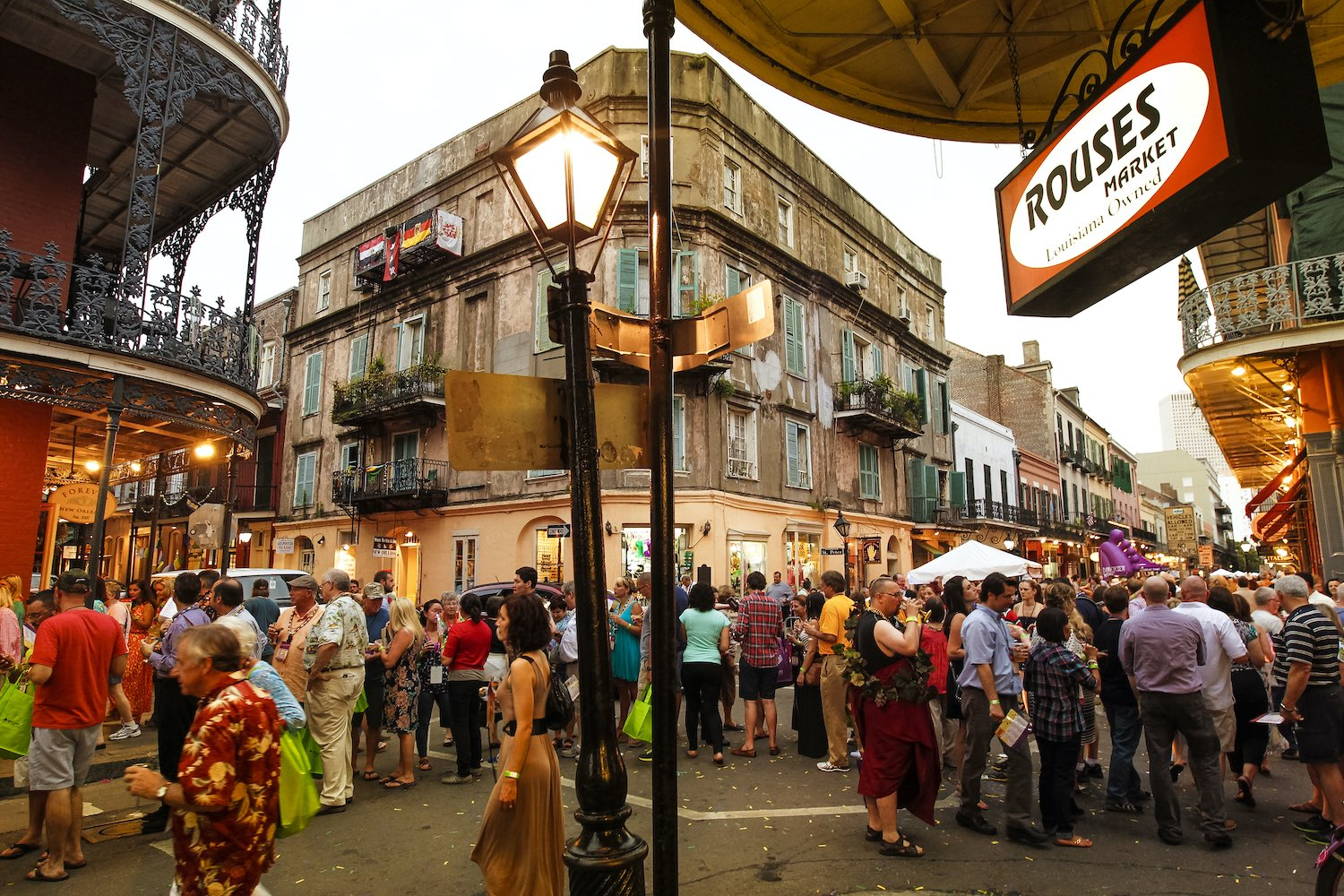 New Orleans Food & Wine Festival 2020.
