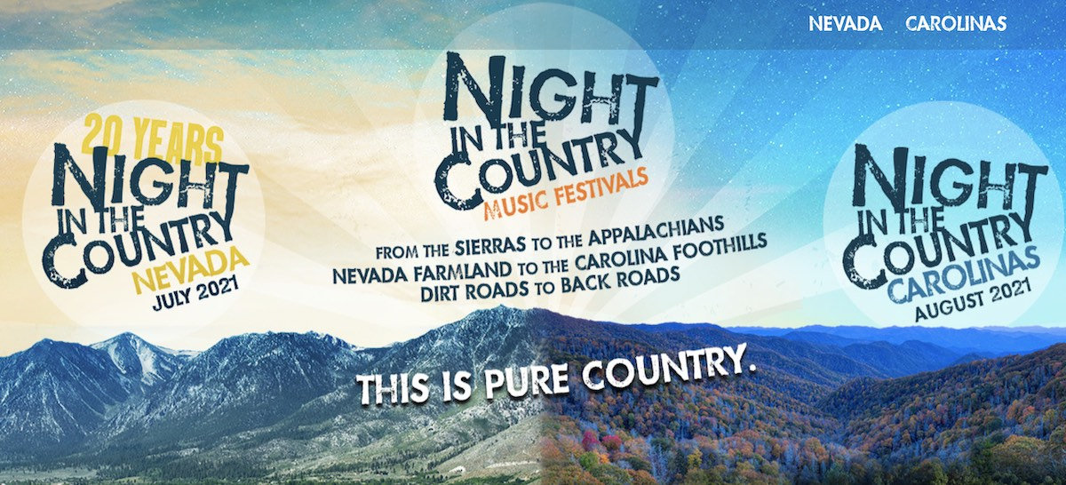 Night in the Country Music Festivals