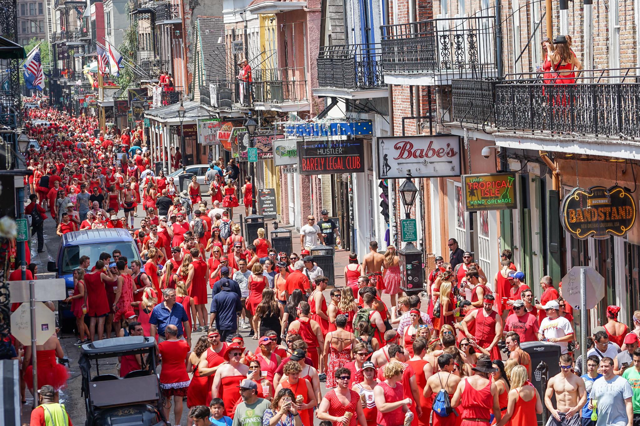 Red Dress Run - New Orleans Festivals 2020