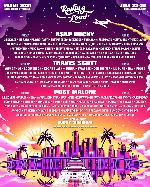 Rolling Loud Miami Florida Festival 2021