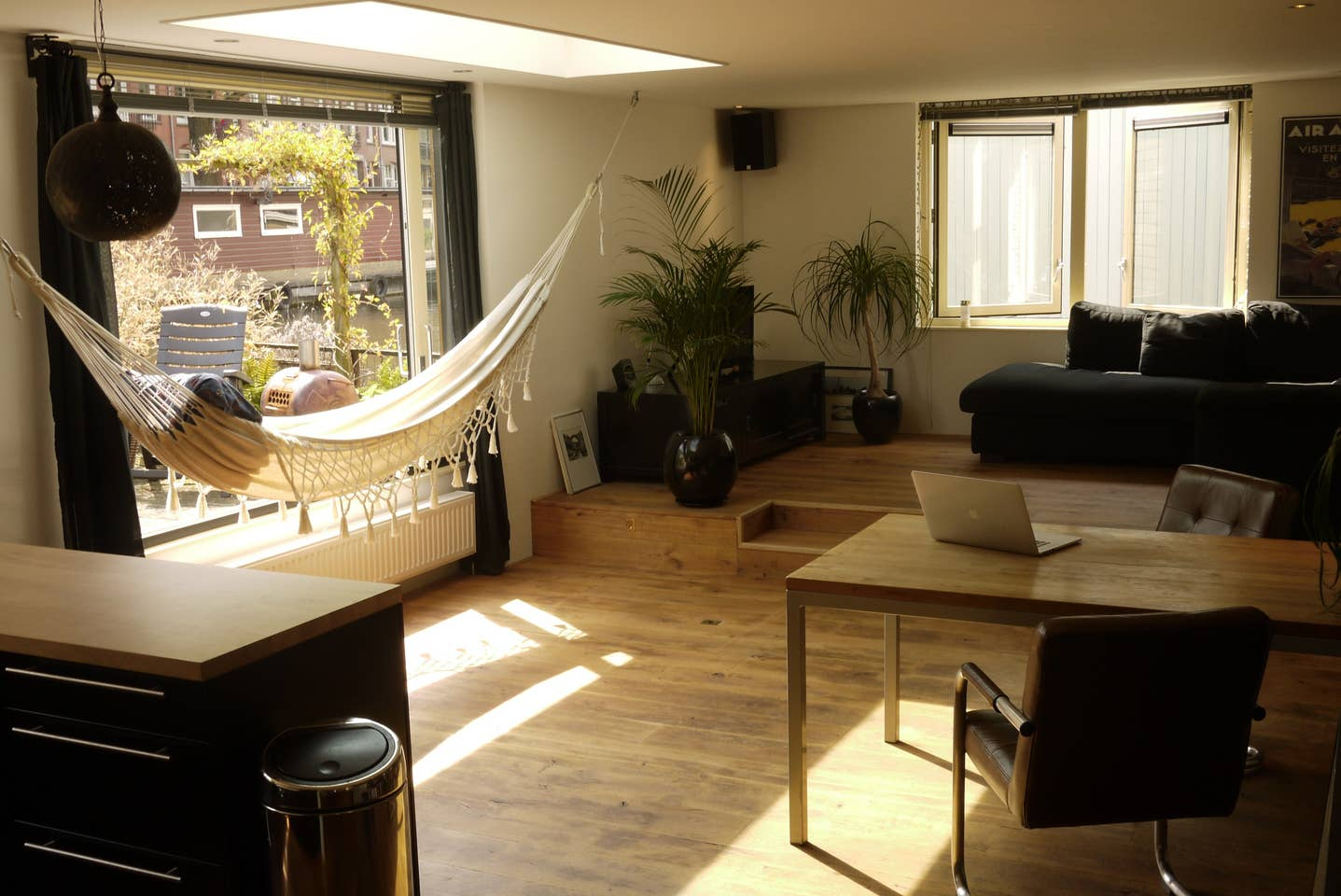 Spacious Houseboat Amsterdam Airbnb