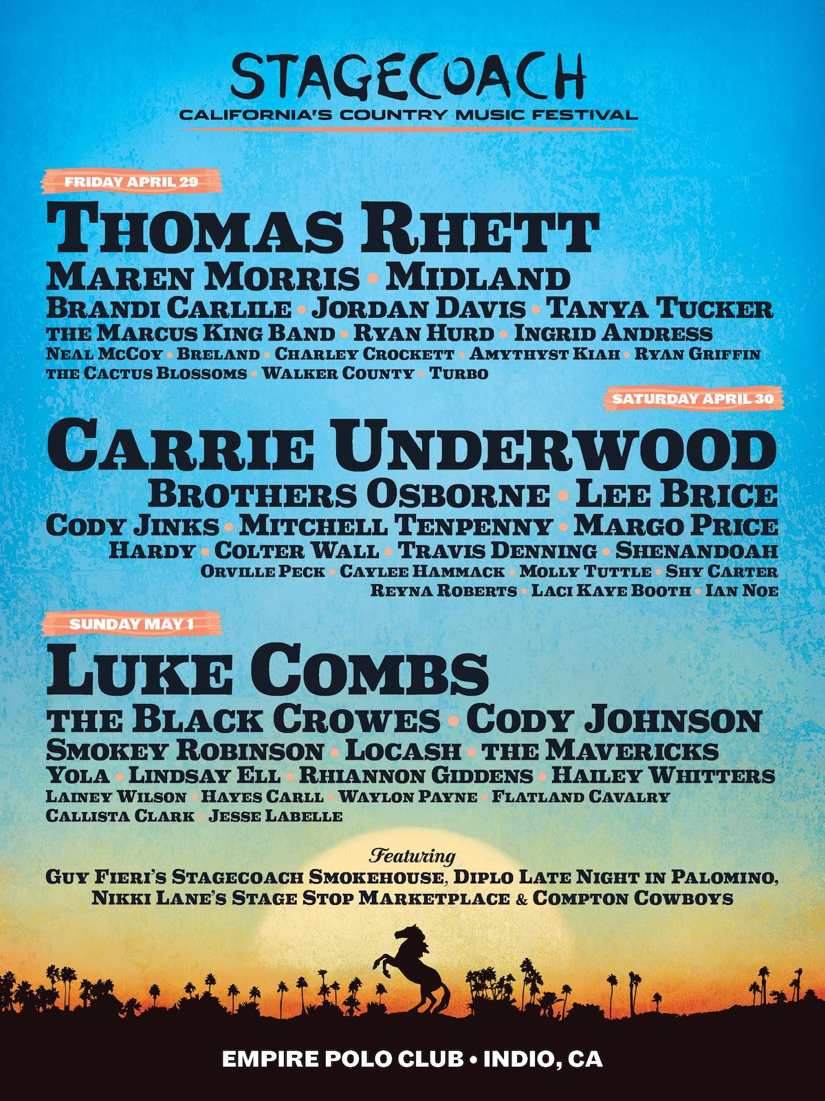 Stagecoach - California Country Music Festival 2022