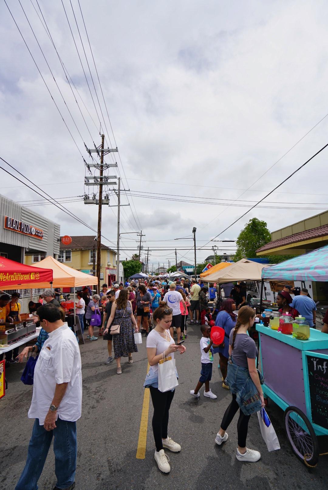 Street Food Festival - Best New Orleans Festivals 2020