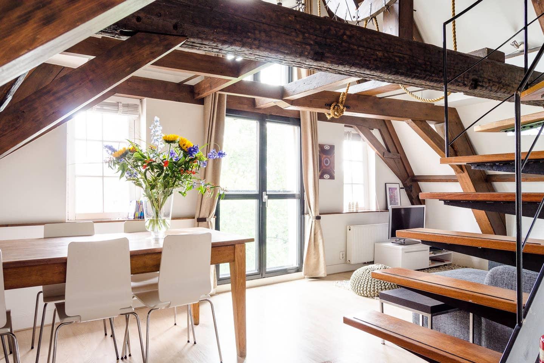 Unique Stylish Airbnbs in Amsterdam
