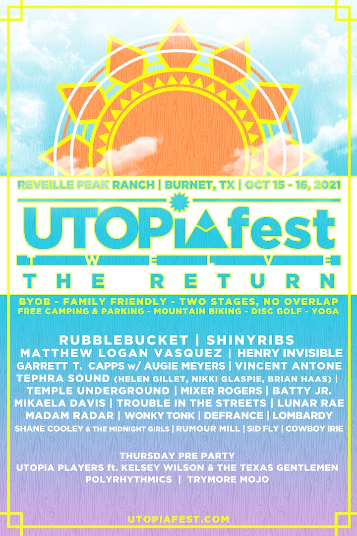Utopia Festival Texas 2021