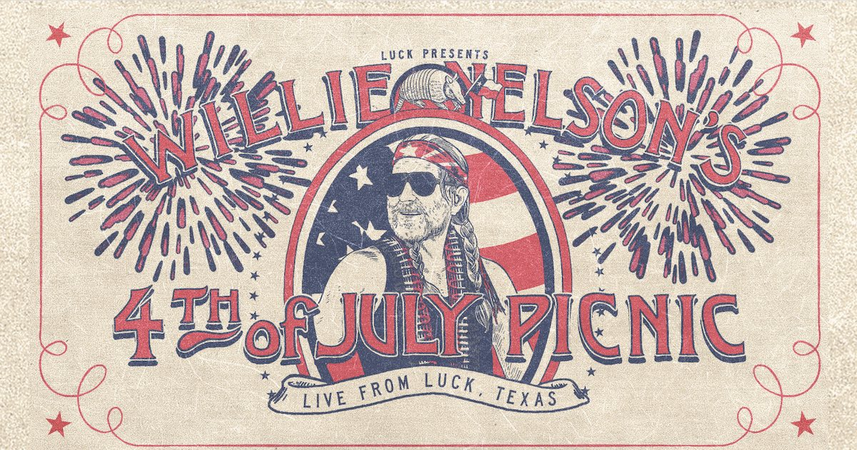 Willie Nelson's 4th of July Picnic - Texas Music Festivals 2021