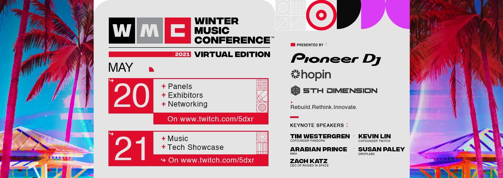 Winter Music Conference Miami Florida Festival 2021