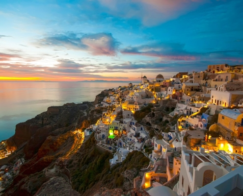 Airbnbs in Santorini