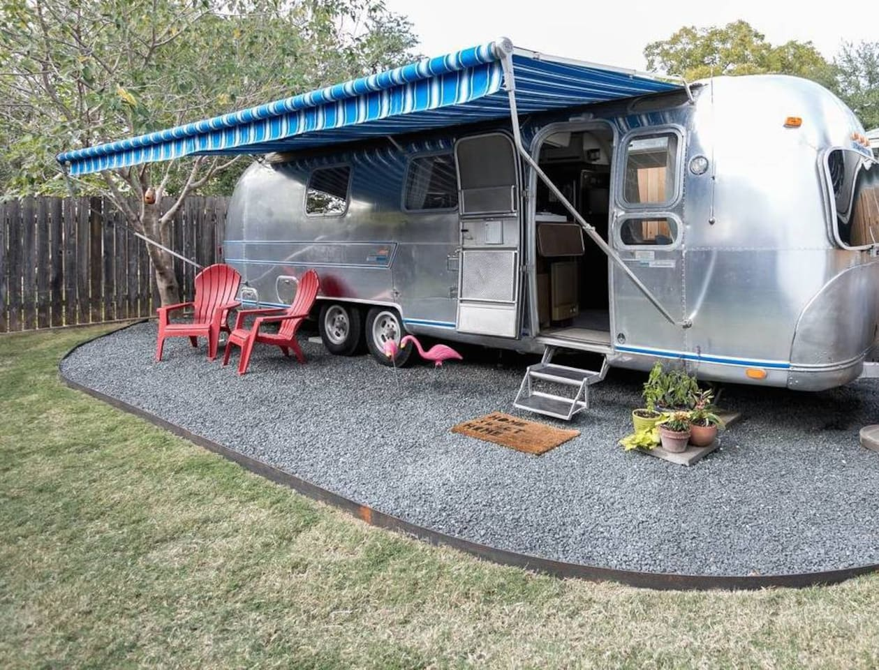 Airstream Airbnb Austin Texas