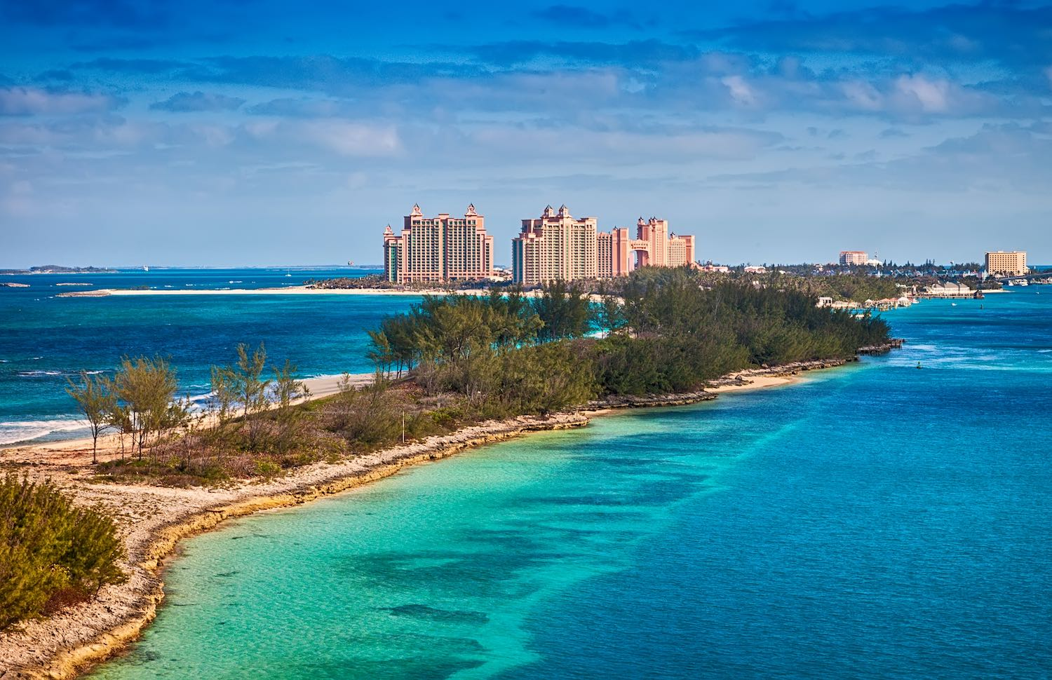 The Bahamas - Where is hot in January