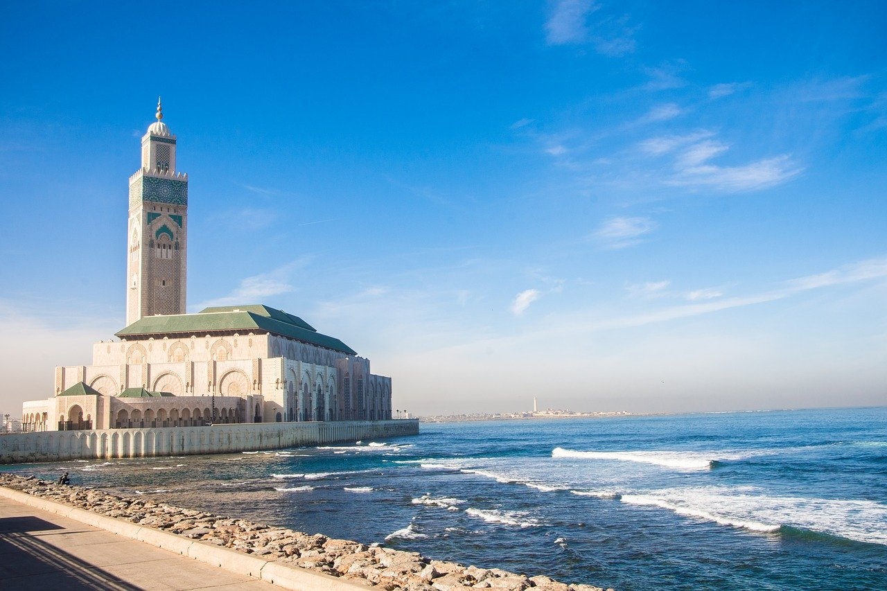 Casablanca, Morocco - Where is Hot in February