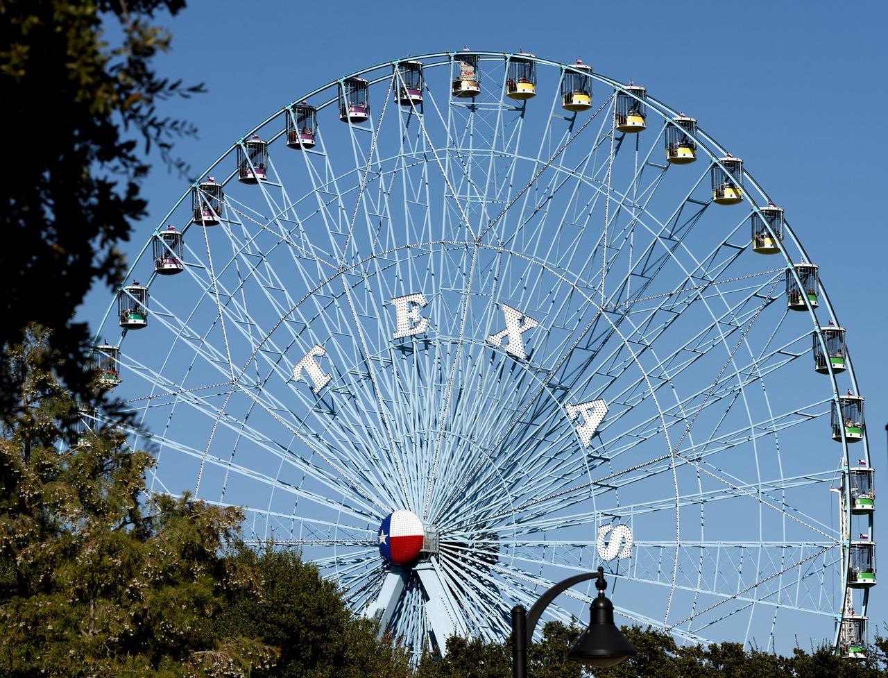 Dallas Ferris Wheel - Best Airbnbs in Dallas Texas