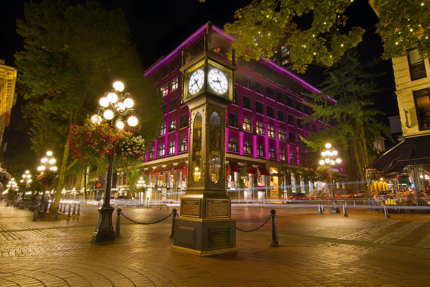 Historic Steam Clock - Best Downtown Vancouver Airbnbs