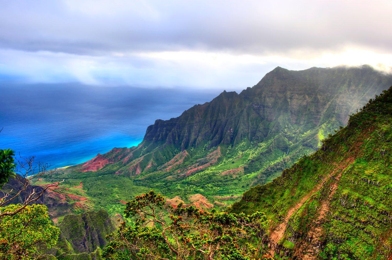 Where is hot in February - Hawaii