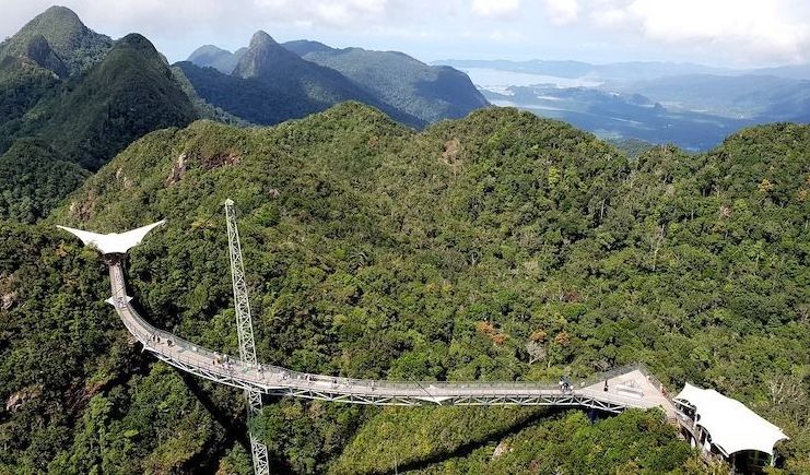Langkawi Sky Bridge - Places to visit in malaysia in 3 days