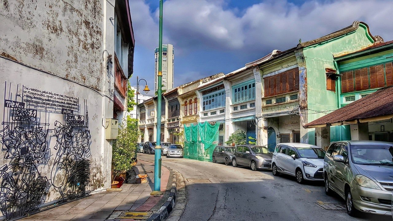 Penang - places to visit in Malaysia in 3 days