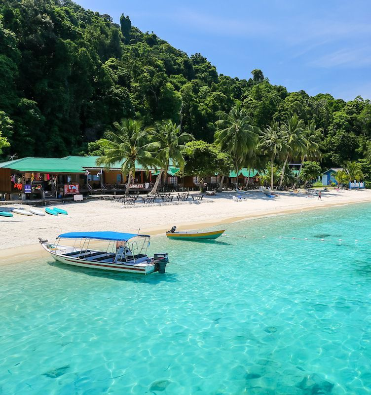 Perhentian Islands - places to visit in Malaysia in 3 days
