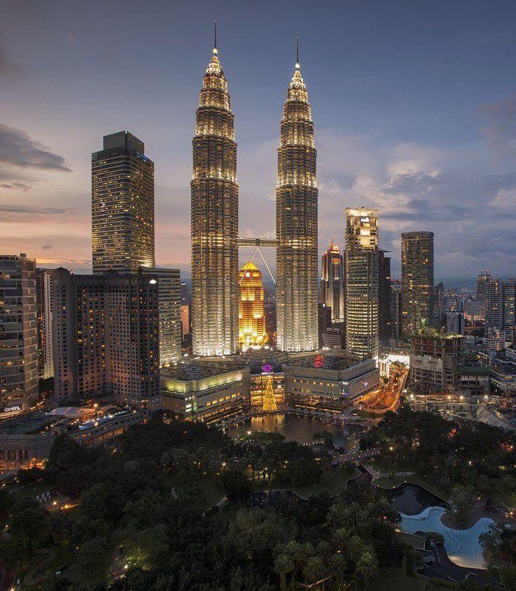 Rooftop bar - 2 Days in Kuala Lumpur
