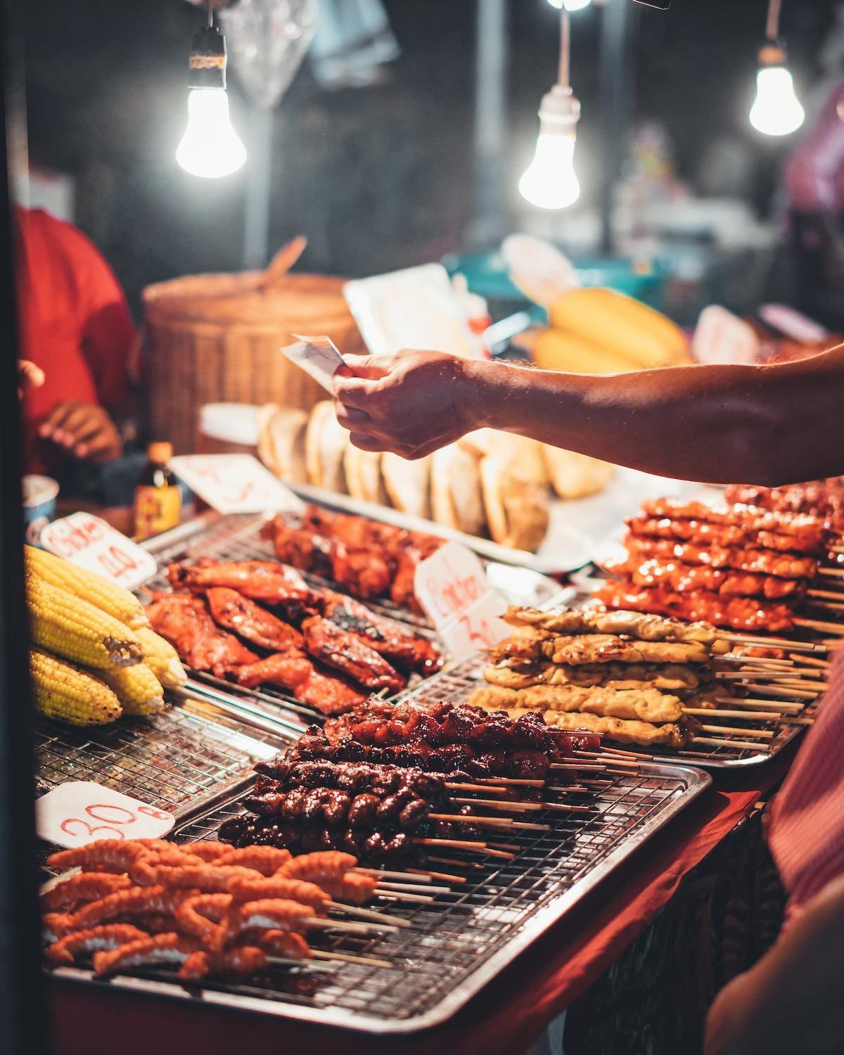 Street Food - Airbnbs in Bangkok