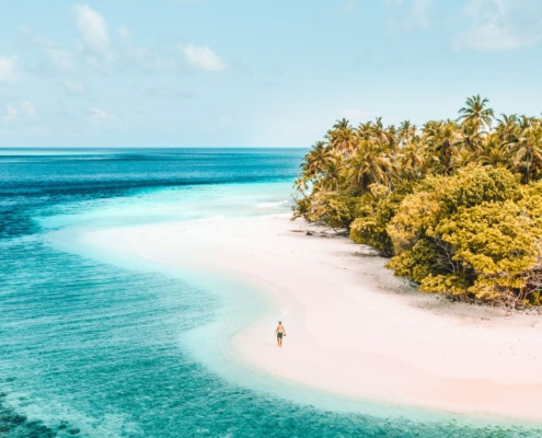 The Maldives - Where is hot in January