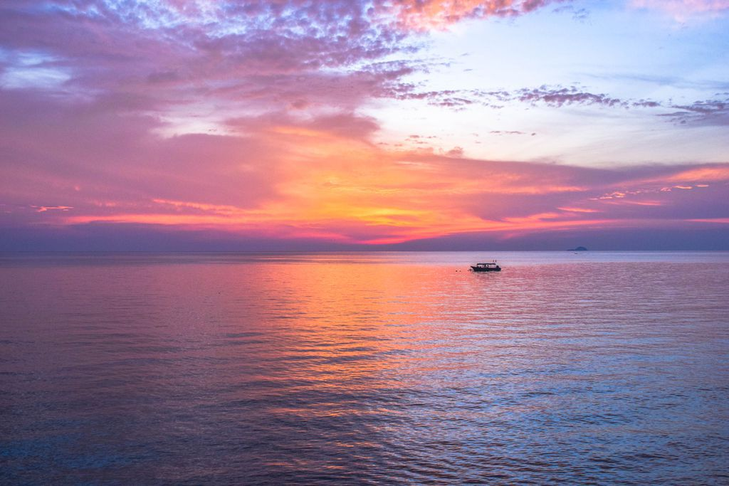 Tioman Island Sunset - Best Places to Visit in Malaysia
