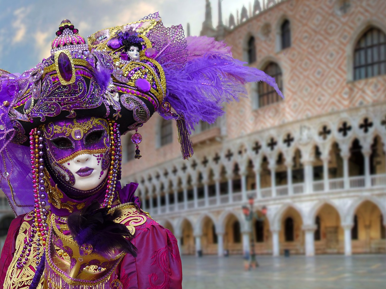 Venetian Mask - Best Airbnbs in Venice