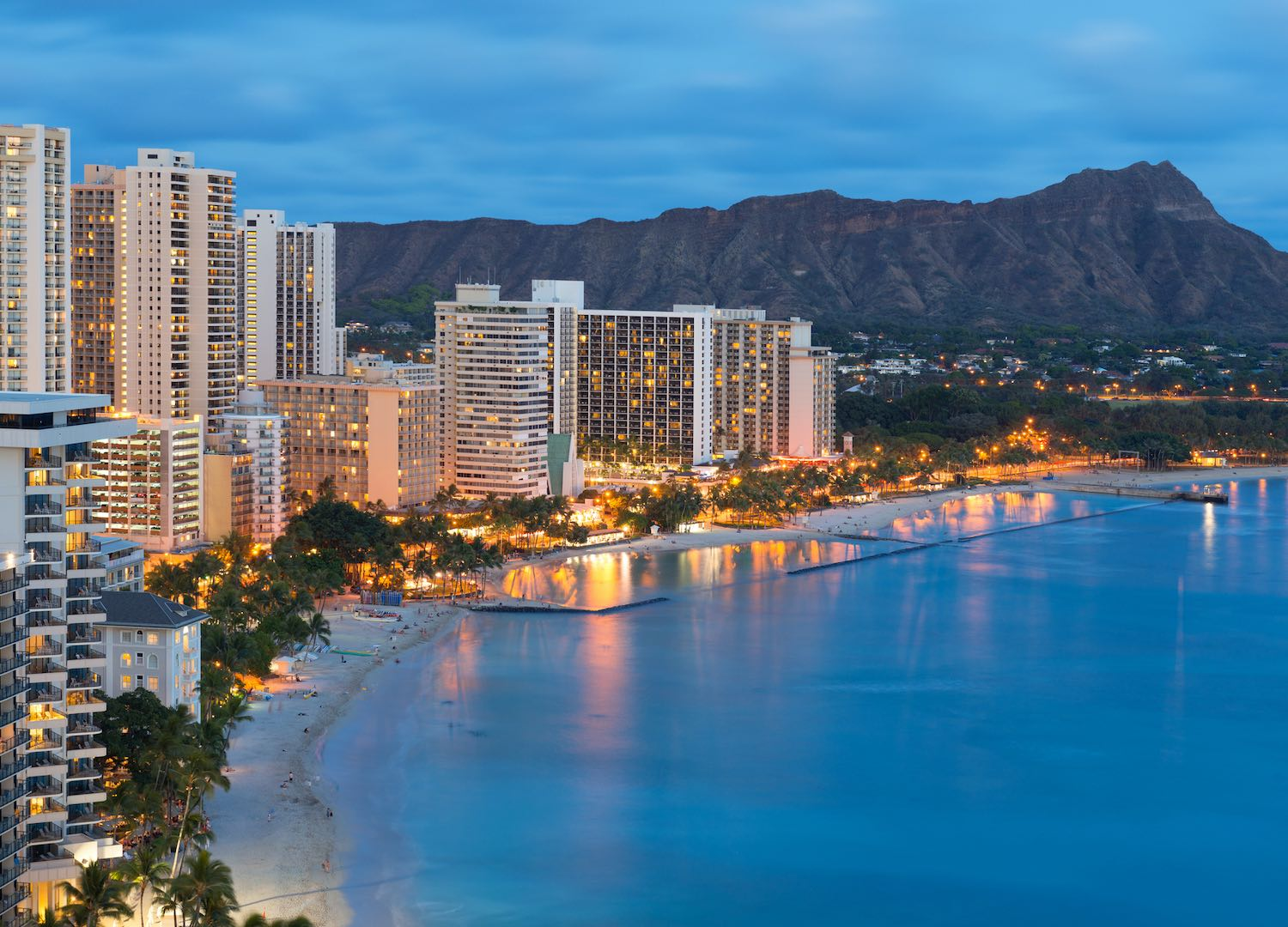 Waikiki Beach - Best Airbnbs in Hawaii