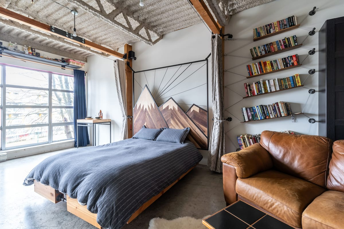 cool airbnb vancouver