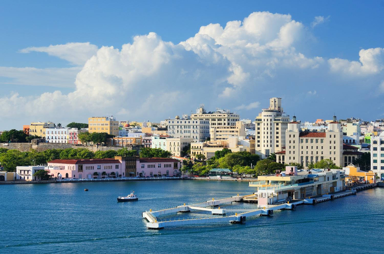 San Juan Skyline - Best Airbnbs in Puerto Rico