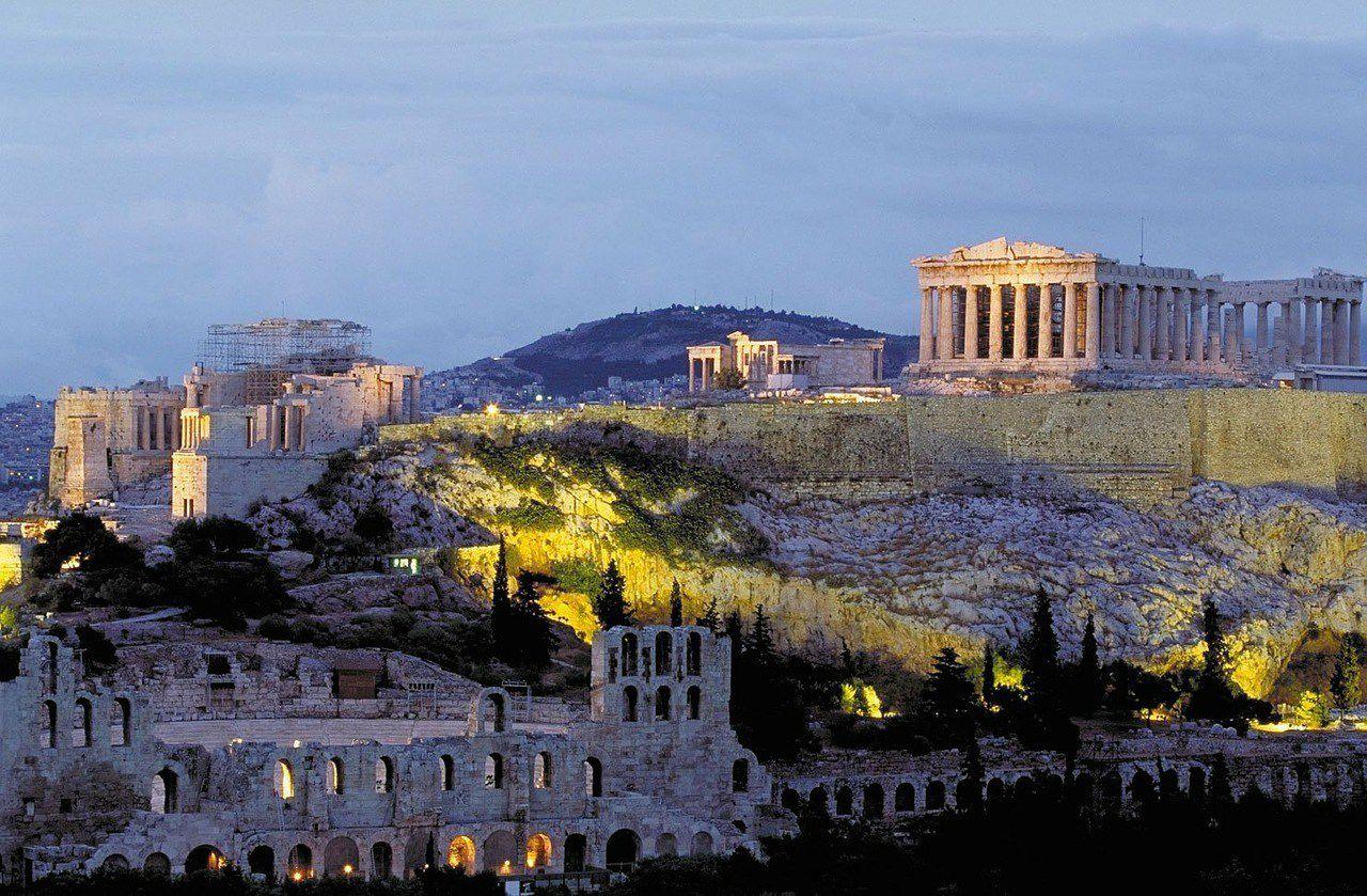 Athens in April