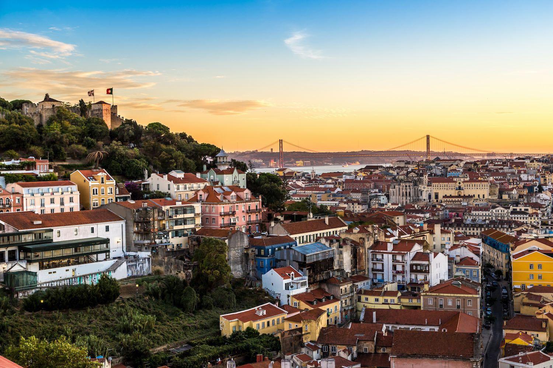 Lisbon in April