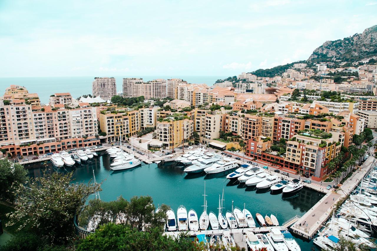 Monaco in April