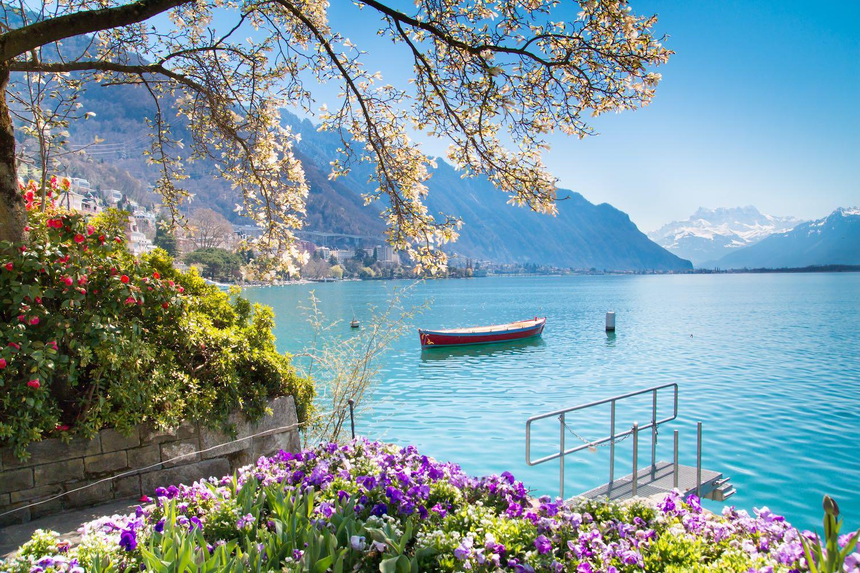 Montreux in April