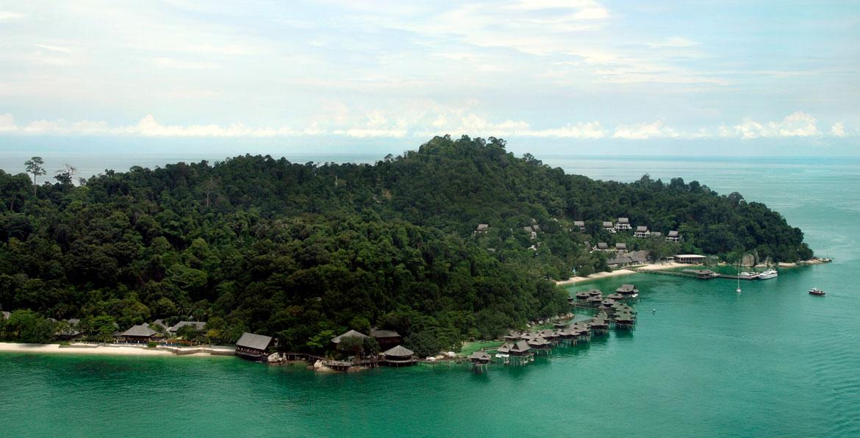 Pangkor Laut Resort - Overwater Villas Malaysia