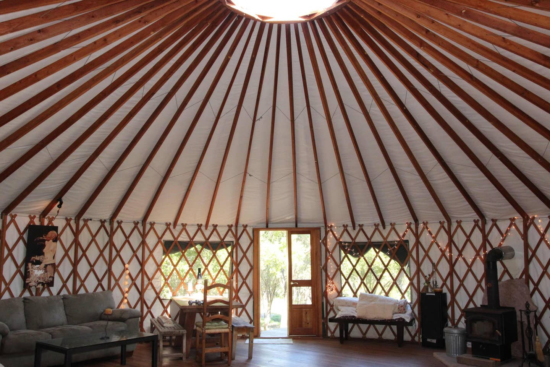 Romantic Yurt on Private Nature Retreat - Glamping Santa Barbara, California