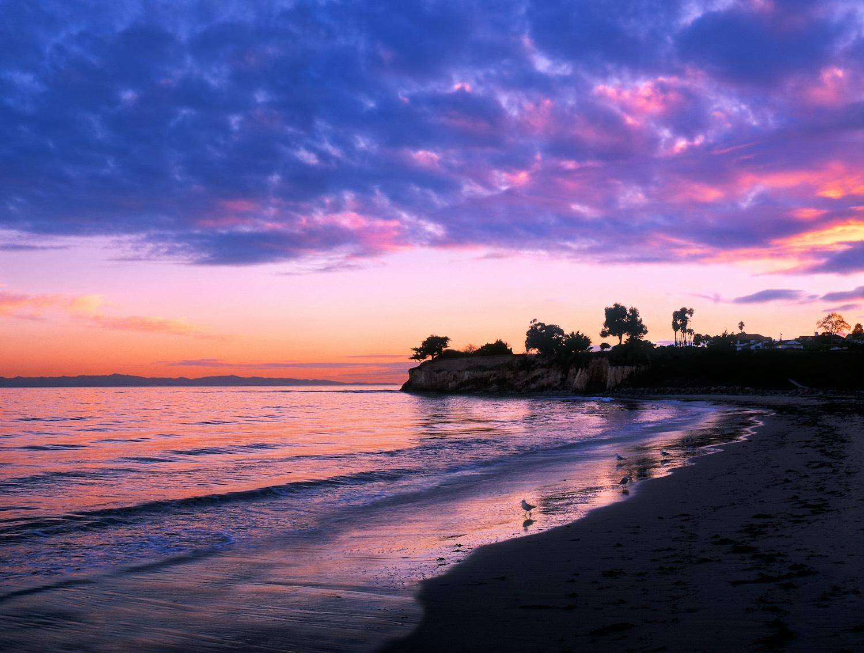 Santa Barbara Airbnb Sunset