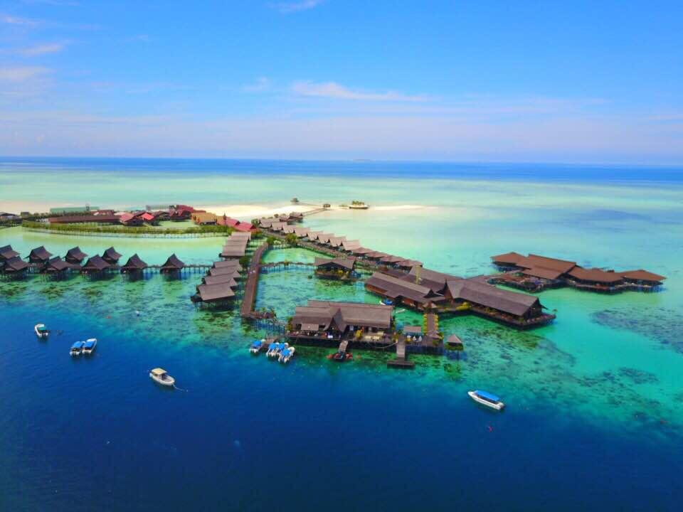 Sipadan Kapalai Dive Resort - Luxury Water Villas Malaysia