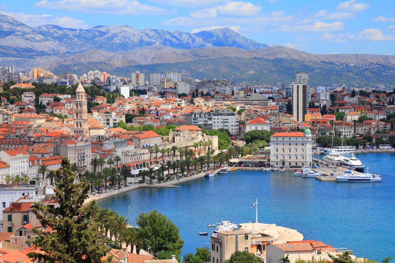 Split, Croatia in April