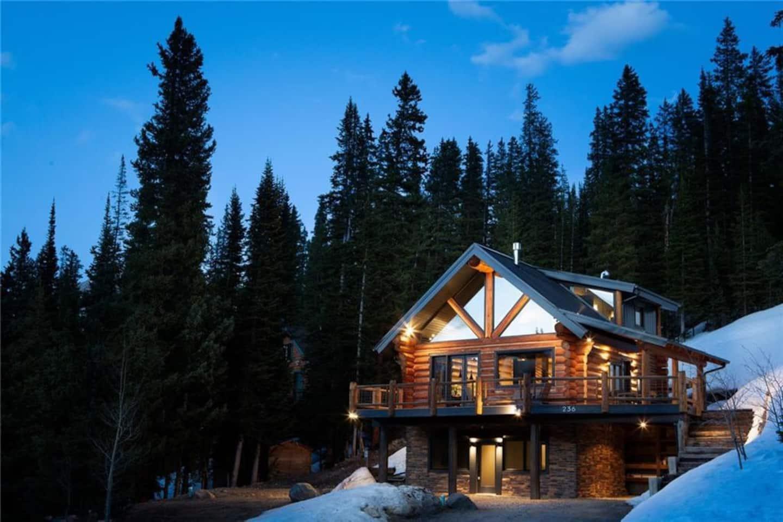best cabin airbnb in breckenridge co