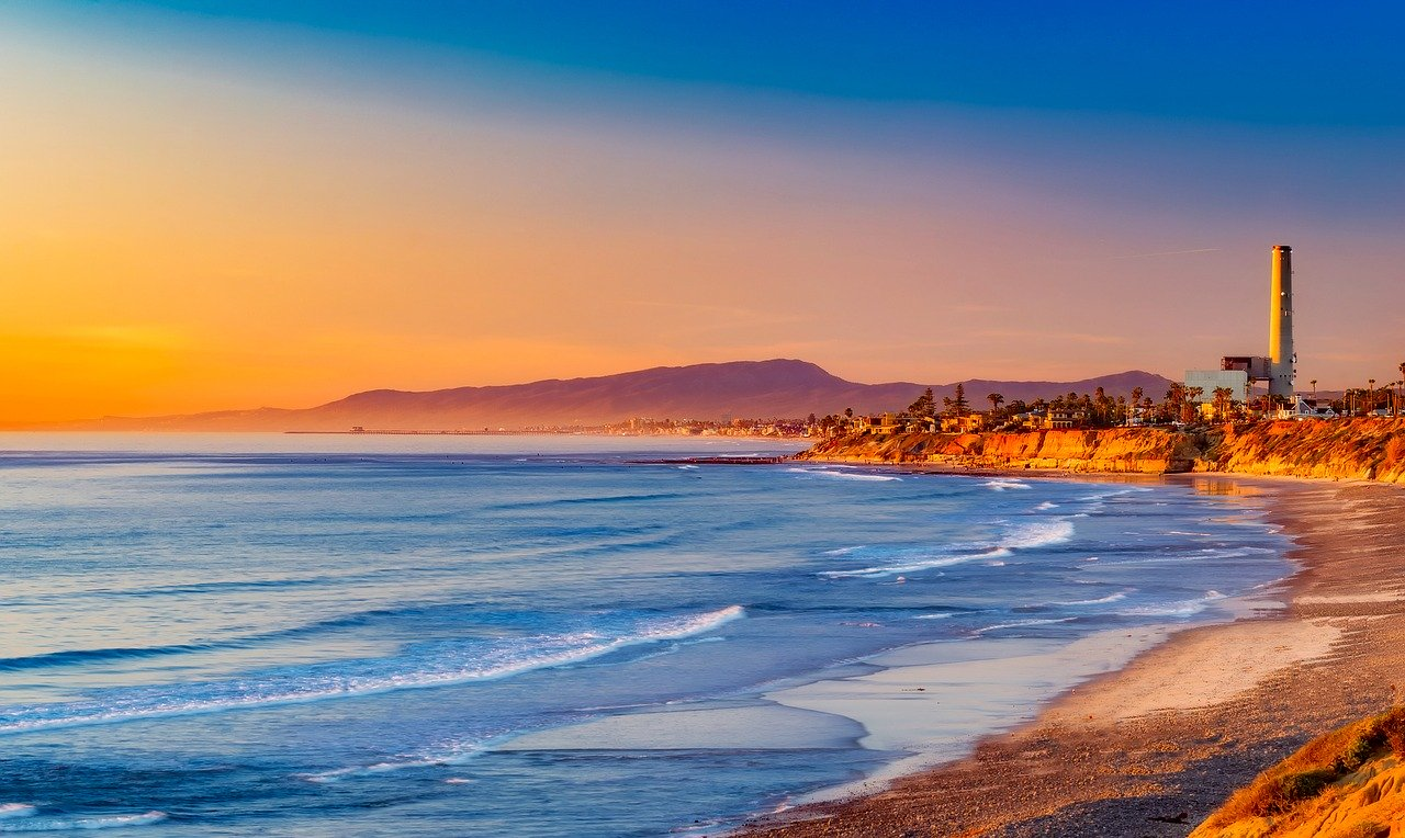 california sunset - airbnbs in santa barbara