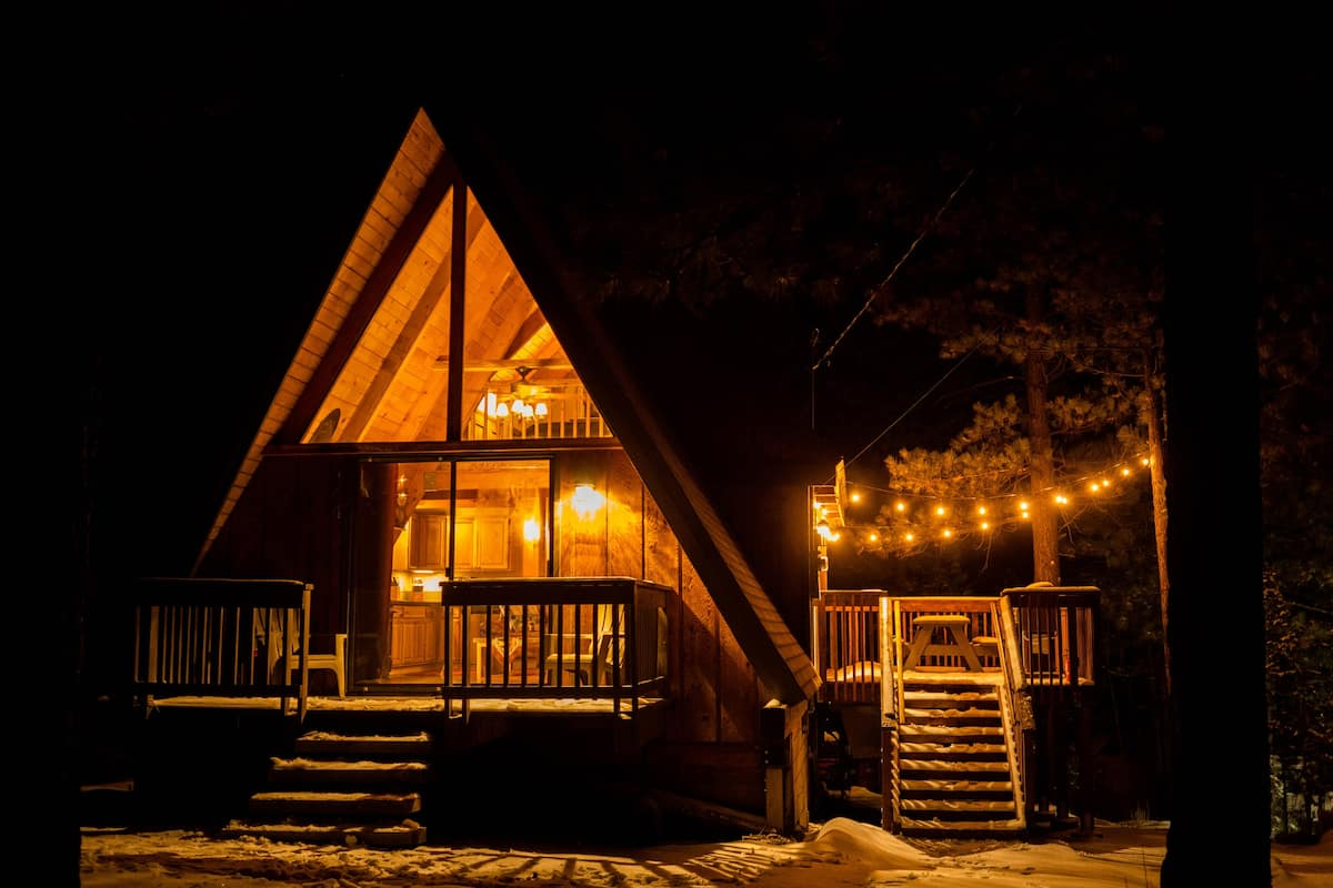 A-Frame Cabin Airbnb Big Bear Lake