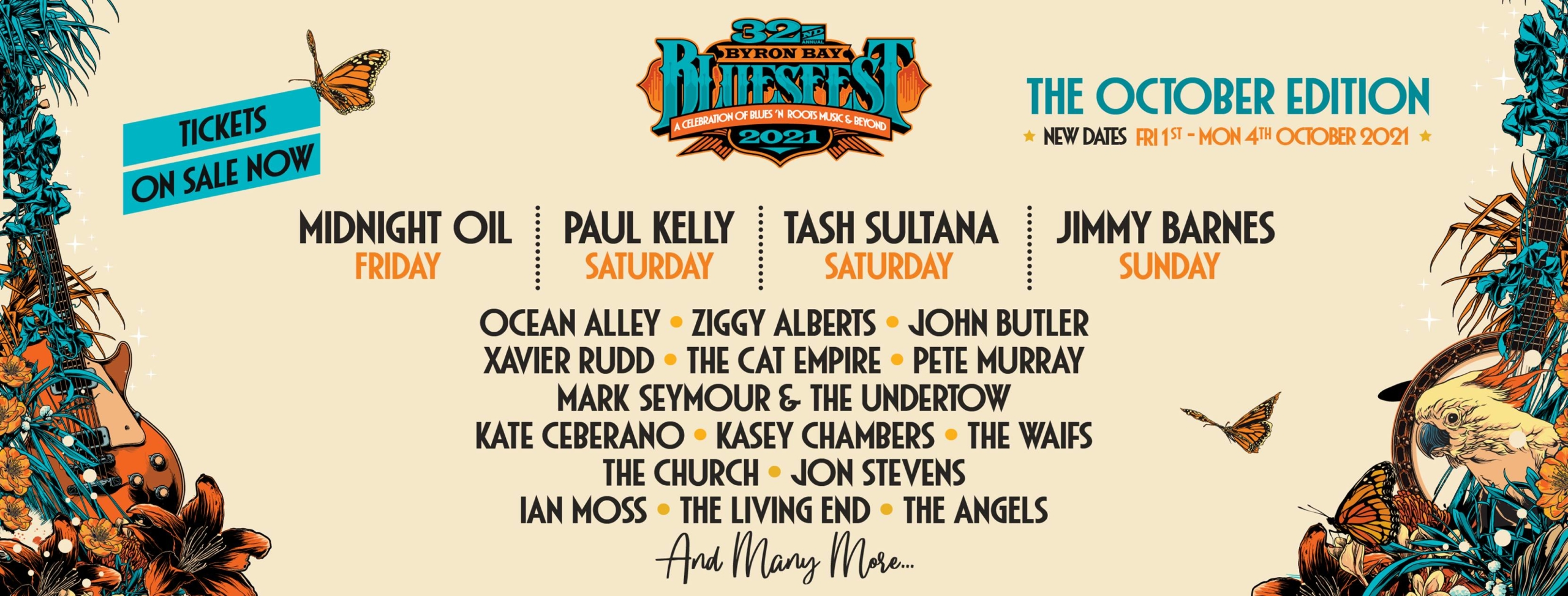 Byron Bay Blues Festival Australia 2021