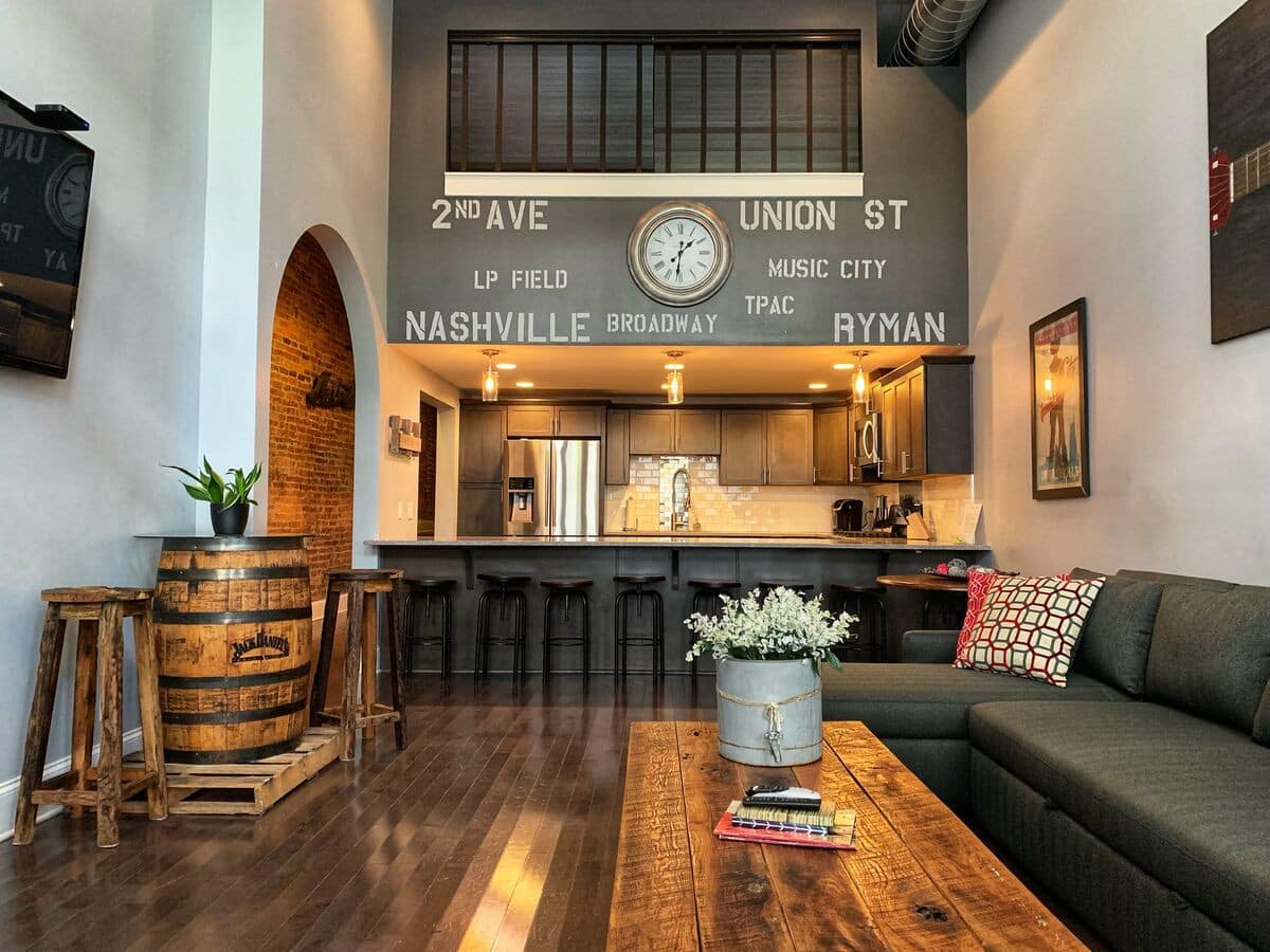Downtown Loft Airbnb Nashville