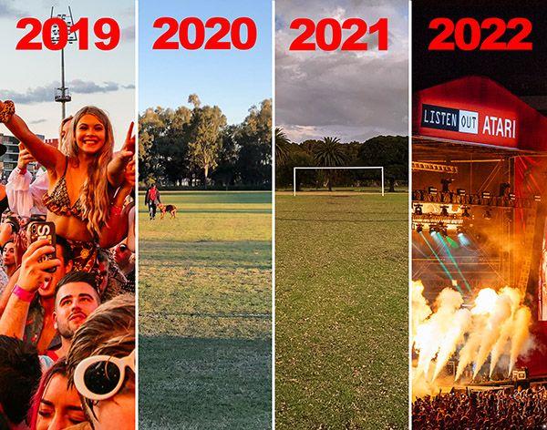 Listen Out Festival Australia 2022