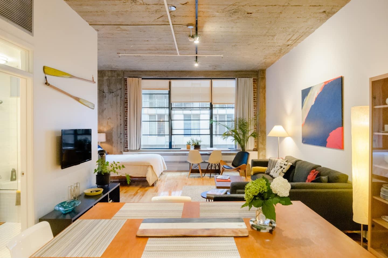 Montreal Airbnb Loft