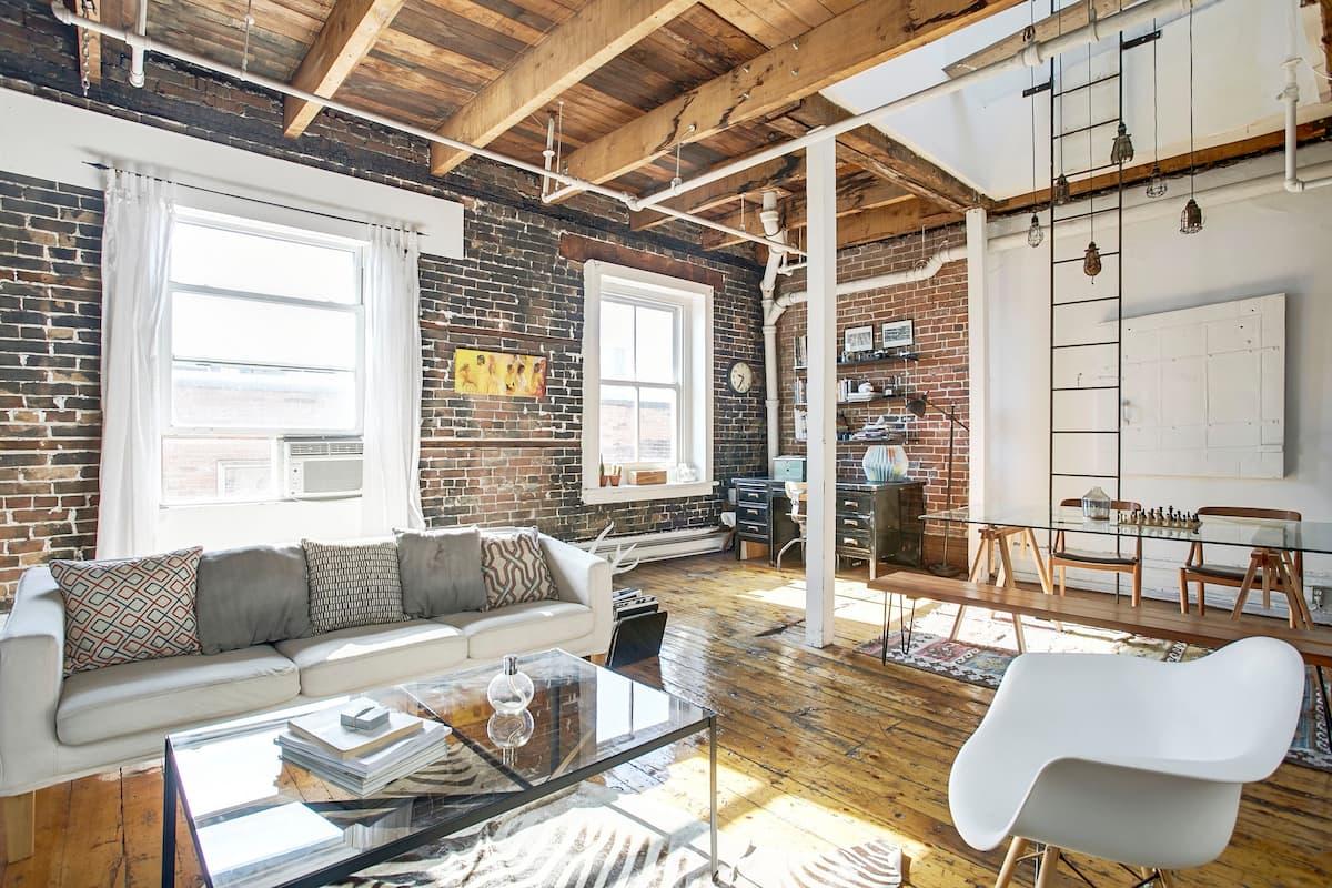 Romantic Airbnb Montreal Canada