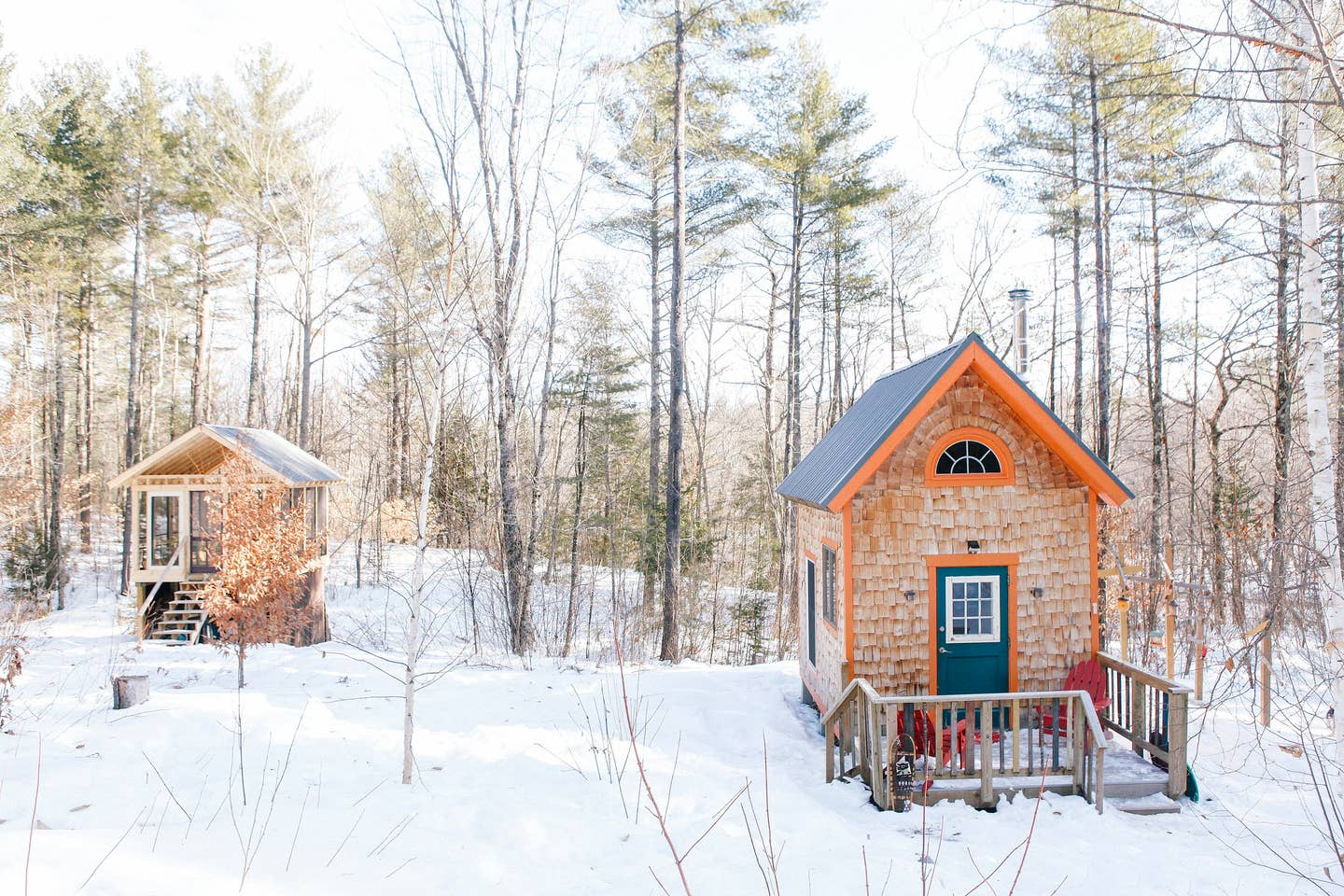 Tiny House Maine Airbnb
