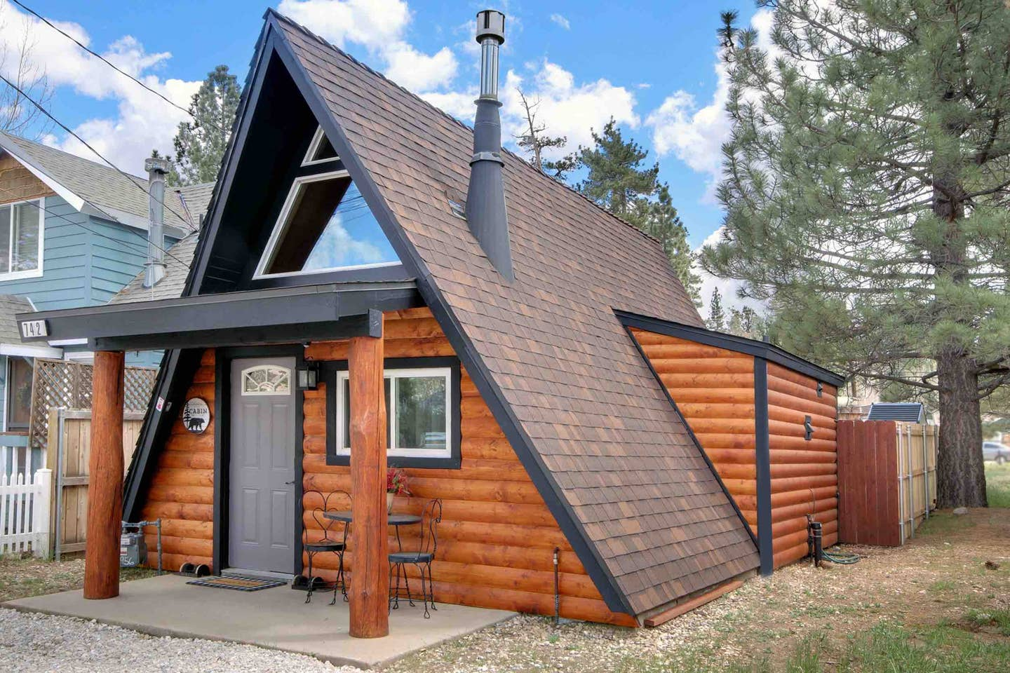 Unique and Modern Big bear Cabin Airbnb