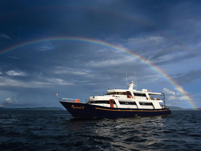 Mermaid-II-Boat - Komodo Diving Liveaboard